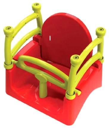 Качели детские Doloni красные/желтые