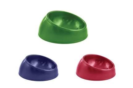 Одинарная миска для кошек и собак Дарэлл, пластик, в ассортименте, 0.2 л