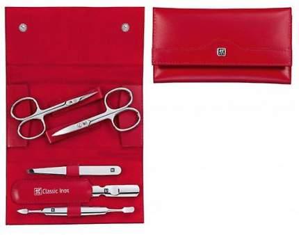 Маникюрный набор Zwilling INOX 5 пр, красный