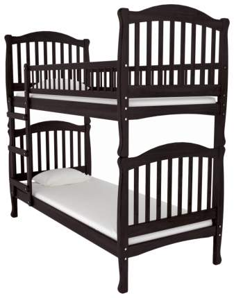 Двухъярусная кровать Nuovita Altezza Due Mogano Махагон