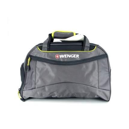 Дорожная сумка Wenger 72614619 серая/салатовая 48 x 24 x 30