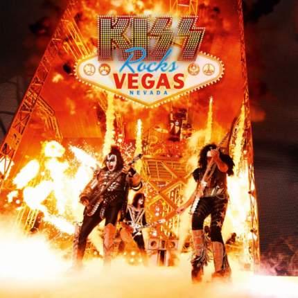 """Виниловая пластинка Kiss """"Rocks Vegas"""" (2LP+DVD)"""