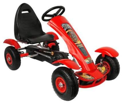 Каталка детская Bondibon Карт на педалях красный X67250