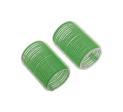 Аксессуар для волос Dewal Бигуди-липучки d=61 мм Зеленый 6 шт