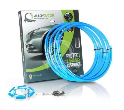 Защитные кольца на диски AlloyGator R13-21 голубые