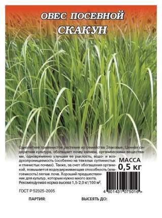 Семена Овес посевной Скакун, 0,5 кг Гавриш