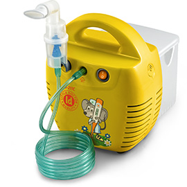 Ингалятор-небулайзер Little Doctor LD-211C компрессорный желтый