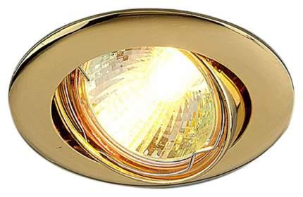 Встраиваемый точечный светильник Elektrostandard 104S MR16 GD Золото a031466