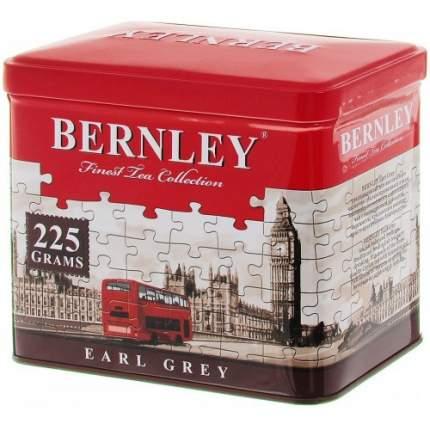 Чай черный листовой Bernley earl grey 225 г