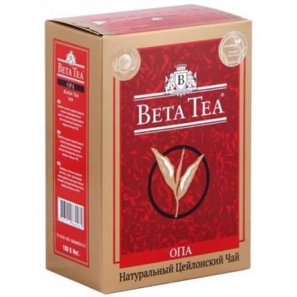 Чай черный листовой Beta Tea опа 100 г
