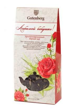 Чай черный Gutenberg ароматизированный любимой бабушке 100 г
