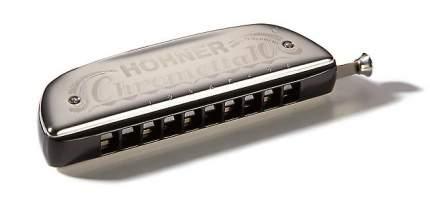 Губная гармоника хроматическая HOHNER Chrometta 8