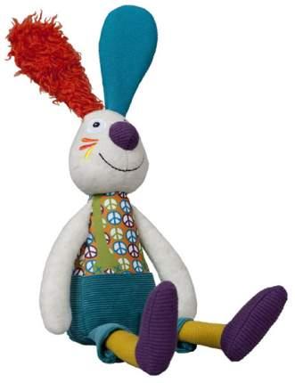 Мягкая игрушка Ebulobo Кролик Джеф с погремушкой внутри