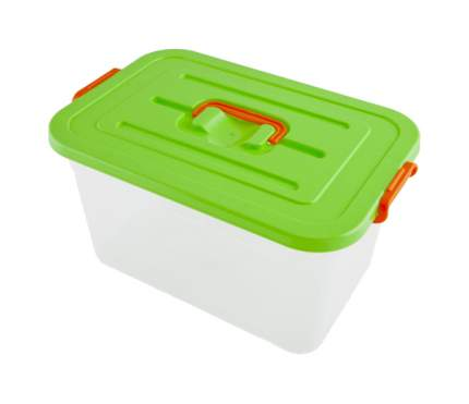 Контейнер для хранения пищи Полимербыт 811 Зеленый, прозрачный