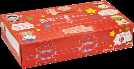 Бумажные салфетки Ideshigyo игры-самоделки двухслойные 150 штук