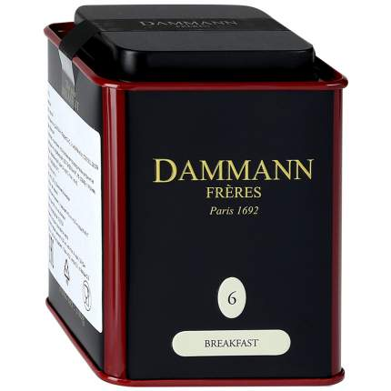 Чай черный Dammann Breakfast 100 г