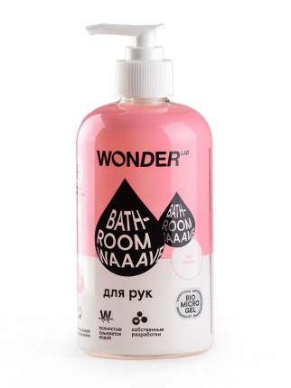 Гель для мытья рук Wonderlab Bathroom Waaave нейтральный, 0.5 л