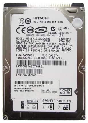Внутренний жесткий диск HGST Travelstar 5K160 120GB (HTS541612J9AT00)