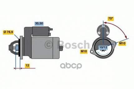 стартер Bosch 0986022740