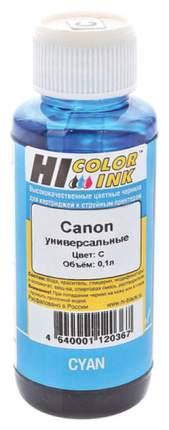 Чернила для струйного принтера Hi-Black универсальные, для Canon, 100 мл, голубые