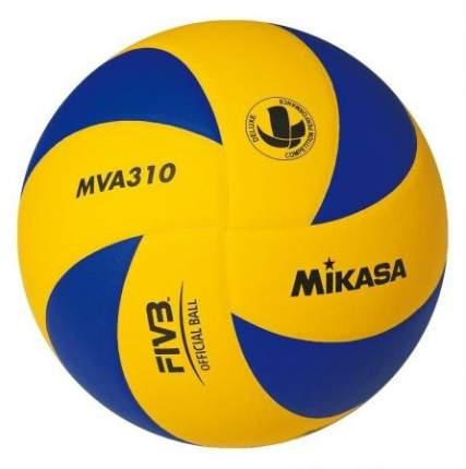 Волейбольный мяч Mikasa MVA310 синий/желтый