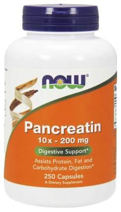 Для пищеварения NOW Pancreatin 2000 мг 250 капсул