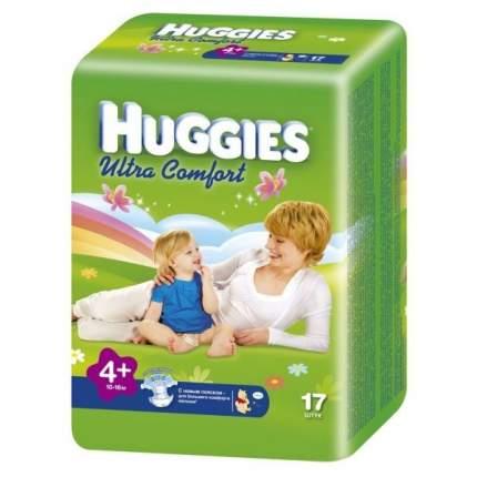 Подгузники для новорожденных Huggies ultra comfort р-р 4+ №17