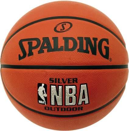 Мяч баскетбольный Spalding NBA Silver № 7 (83016Z)