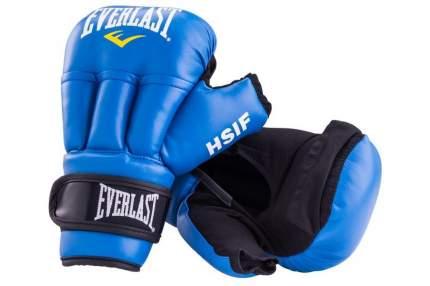 Перчатки для рукопашного боя Everlast HSIF RF3210, 10oz, к/з, синий