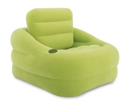 Надувное кресло intex accent chair green, 97х107х71 см, арт, 68586, Интекс