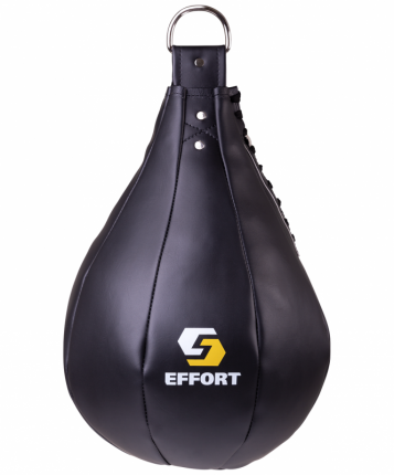 Груша боксерская Effort E523, кожзам, 16 кг, черный
