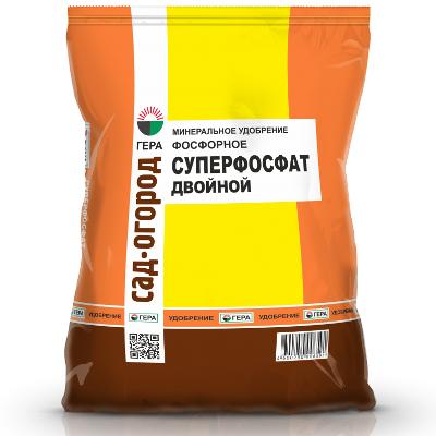 Органическое удобрение Гера Суперфосфат простой 15404 0,9 кг