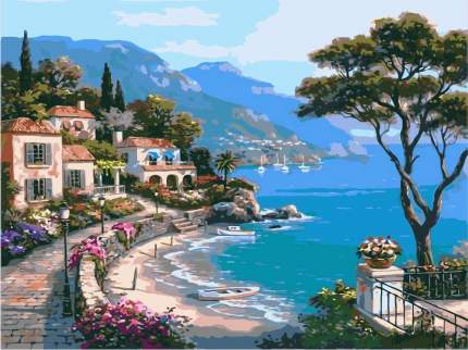 Картина по номерам Paintboy Морское побережье, 40x50 см