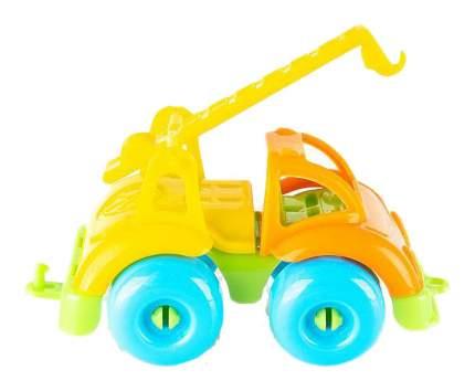 Машинка пластиковая Кнопа Кран Вжух в городе 86222PL