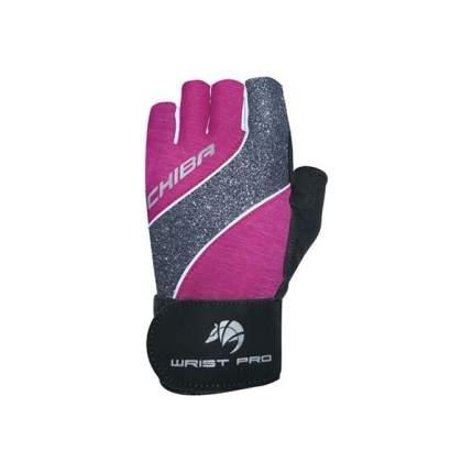 Перчатки для фитнеса Chiba Lady Line Starlight, розовые, XS