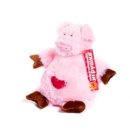 Мягкая игрушка Поросенок с сердцем 30 см Нижегородская игрушка См-752-5