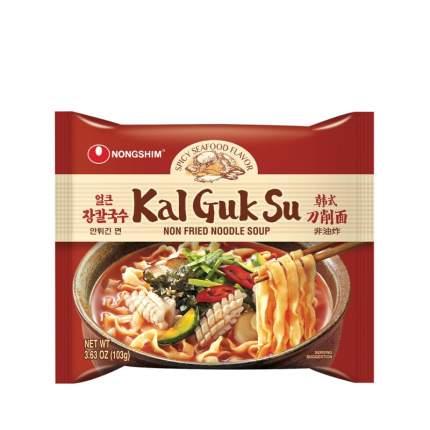Лапша быстрого приготовления Каль Кук Су Nongshim острая пачка 103 г