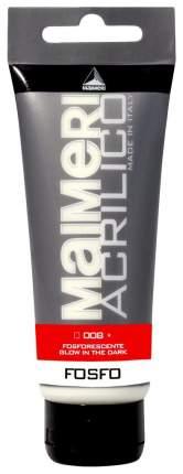 Акриловая краска Maimeri Acrilico M0916008 фосфоресцентный 75 мл