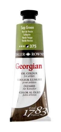 Масляная краска Daler Rowney Georgian зеленый травяной 38 мл