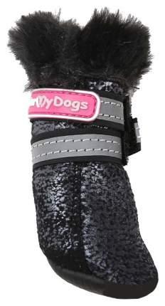 Сапоги для собак FOR MY DOGS, зимние, черные, FMD629-2018 Bl 2