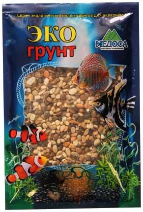 Грунт для аквариума ЭКОгрунт Галька реликтовая №2 4 - 8 мм 1 кг