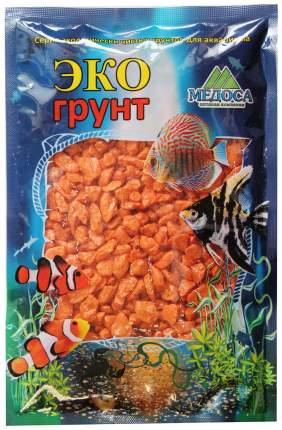 Грунт для аквариума ЭКОгрунт Мраморная крошка Оранжевая 5 - 10 мм 1 кг
