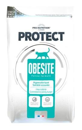 Сухой корм для кошек Flatazor Protect Obesite, диетический, мясо, 0,4кг