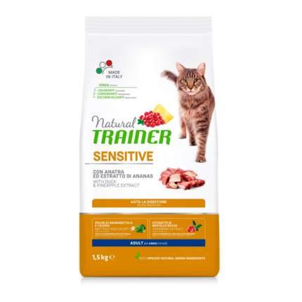 Сухой корм для кошек TRAINER Solution Sensitive, для аллергичных, утка, 0,3кг