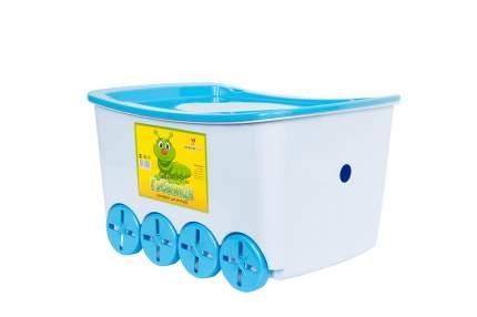 Контейнер для игрушек с крышкой Hoff Гусеница