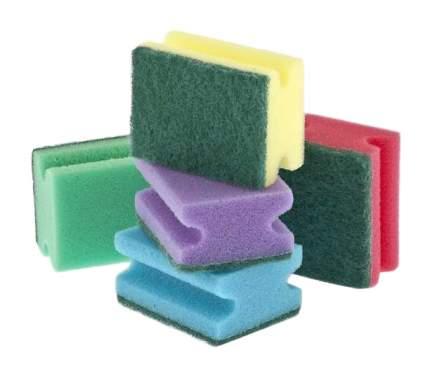 Губки для посуды профильные Elfe comfort 85 * 65 * 43 мм 5 шт