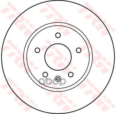 Тормозной диск TRW DF4928S