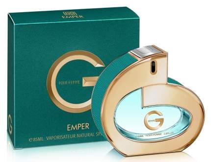 Парфюмерная вода для женщин EMPER «G», 85 мл
