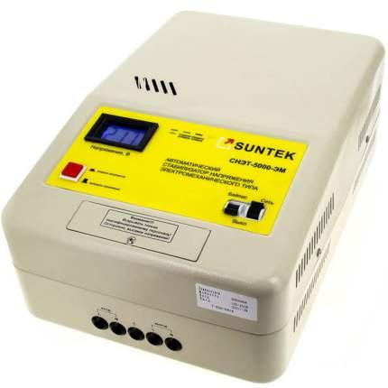Стабилизатор напряжения электромеханического типа SUNTEK эм 5000ВА