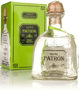 Текила Patron Silver gift box 0.75 л